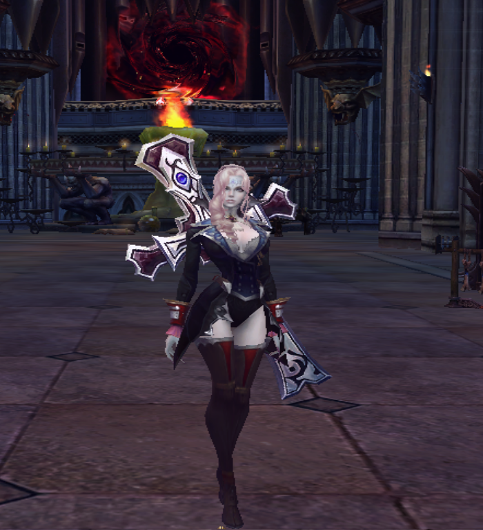 Forsaken World Character by Lolalilacs