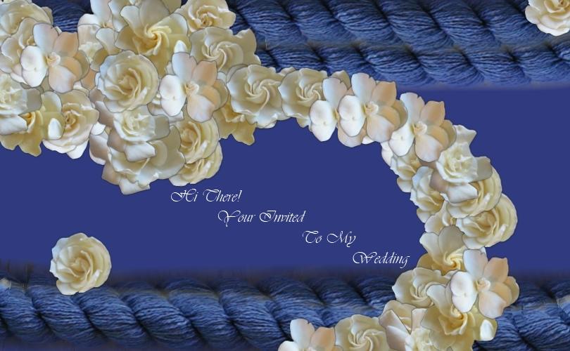 Wedding Post Card by Lolalilacs