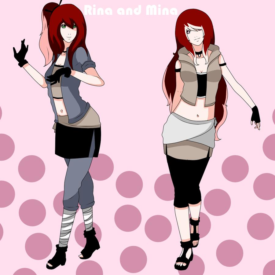 Rina and Mina by Lolalilacs
