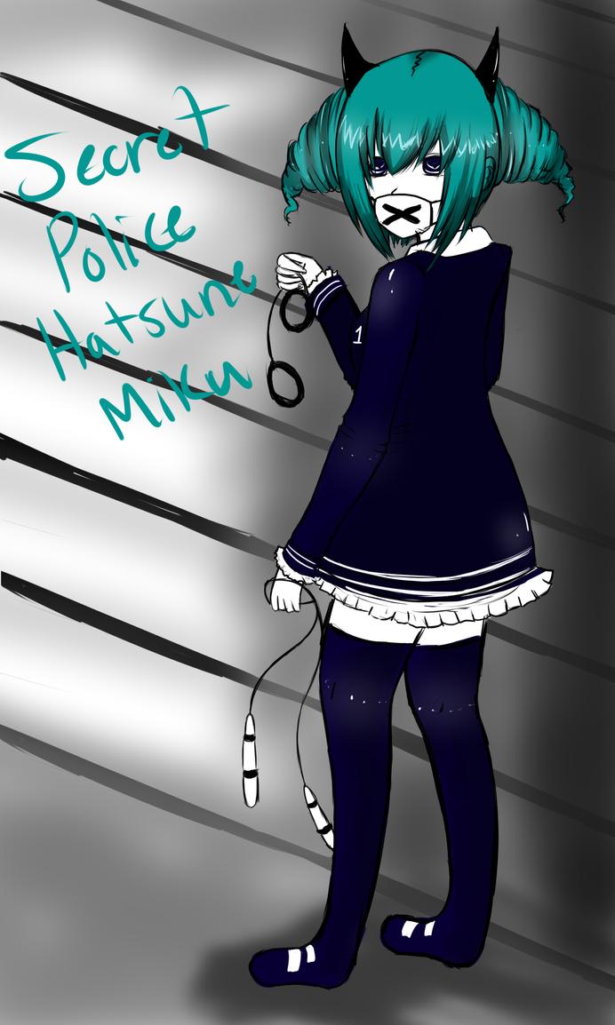 Secret Police Miku Hatsune by Lolalilacs