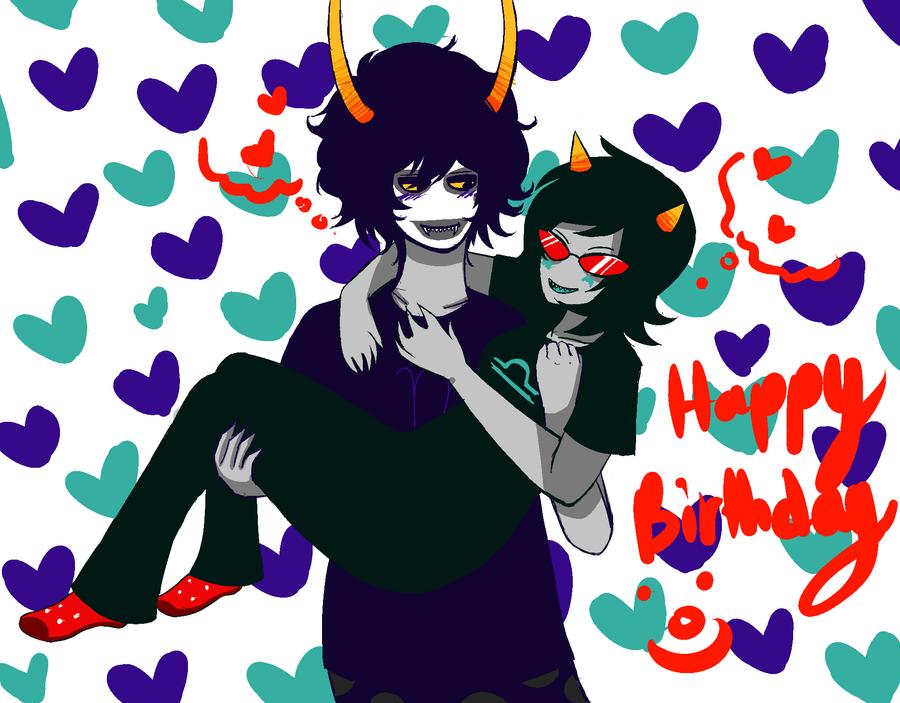 Happy Birthday Maddie! by Lolalilacs