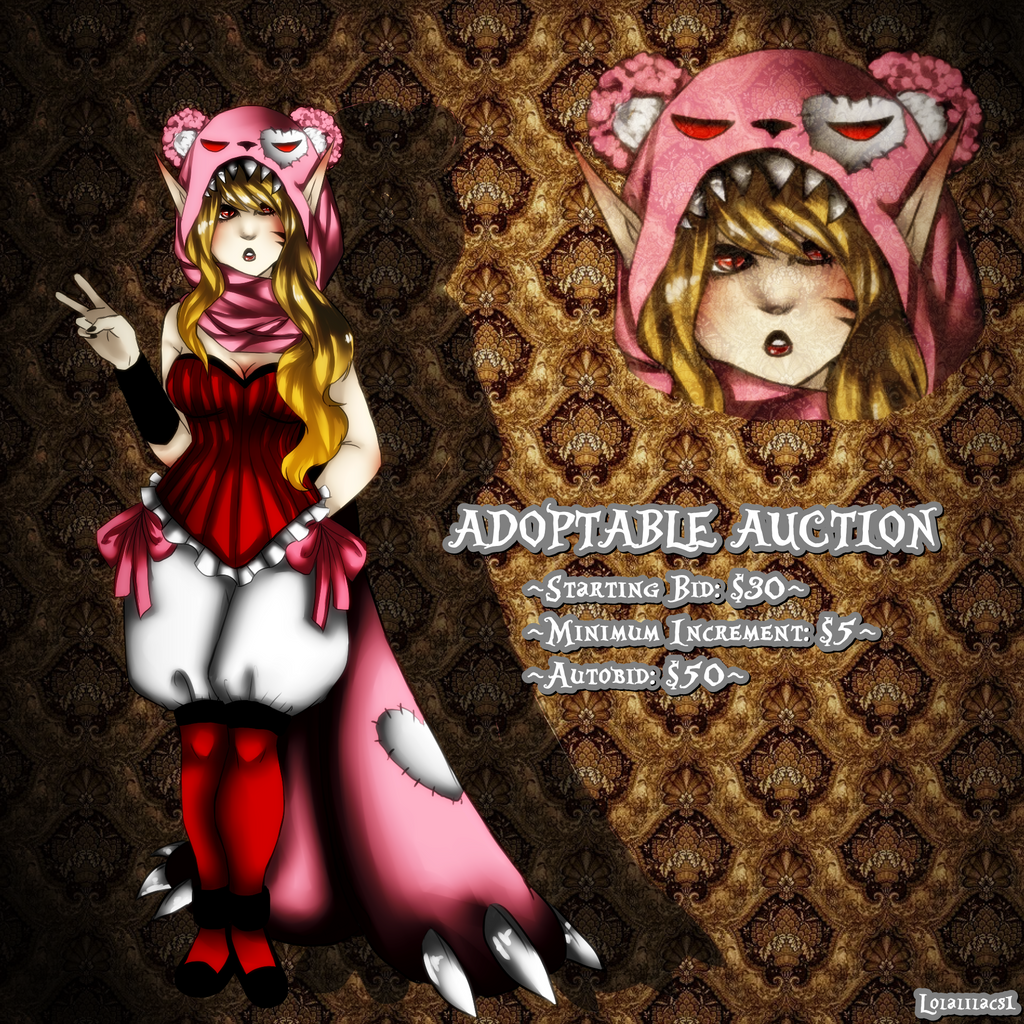 Adoptable 2 Auction (OPEN/PAYPAL) by Lolalilacs