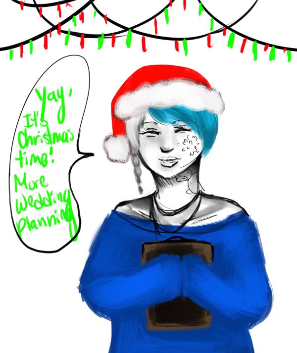 TG: Christmas Kazue by Lolalilacs