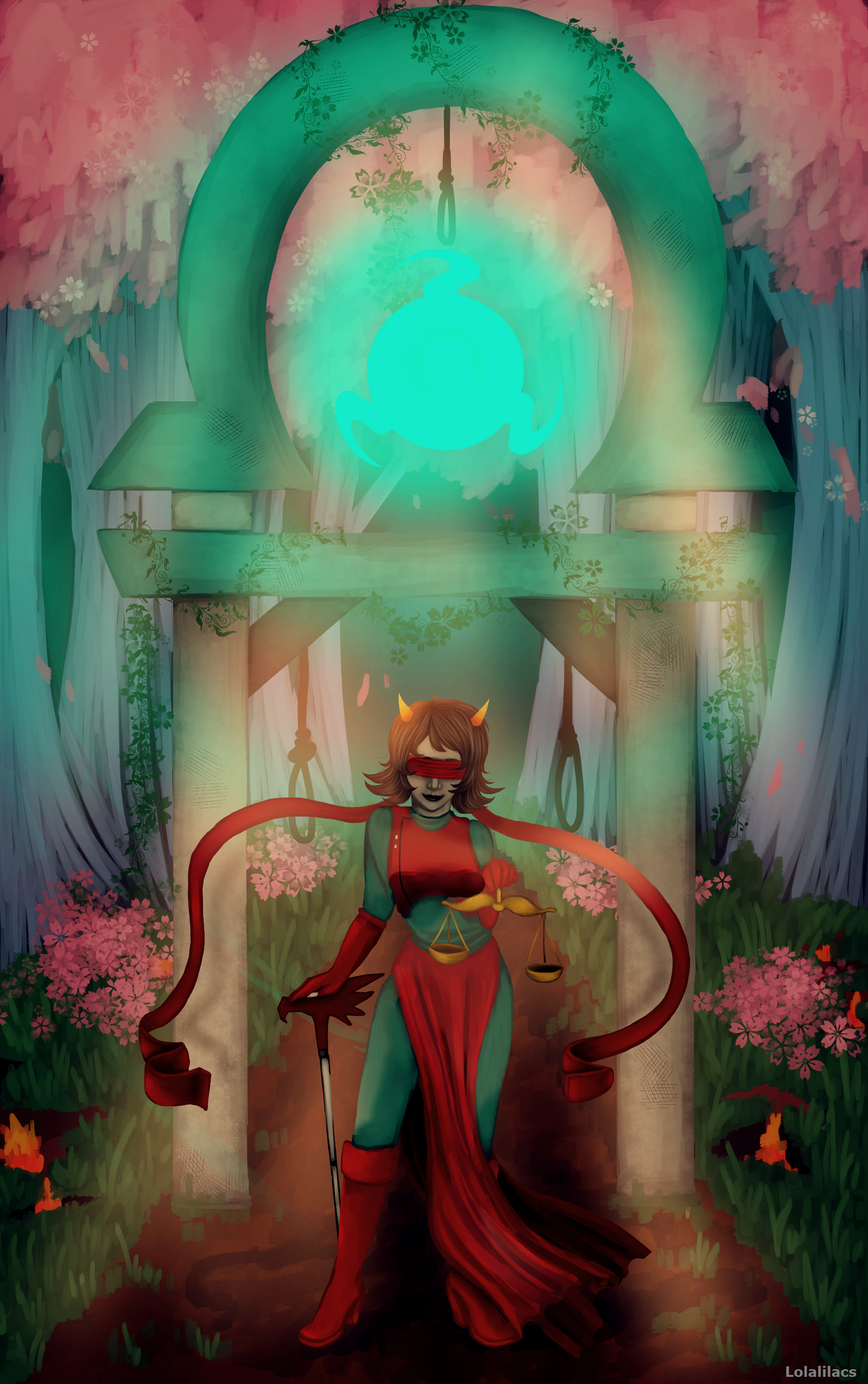 Commission: Terezi Pyrope by Lolalilacs