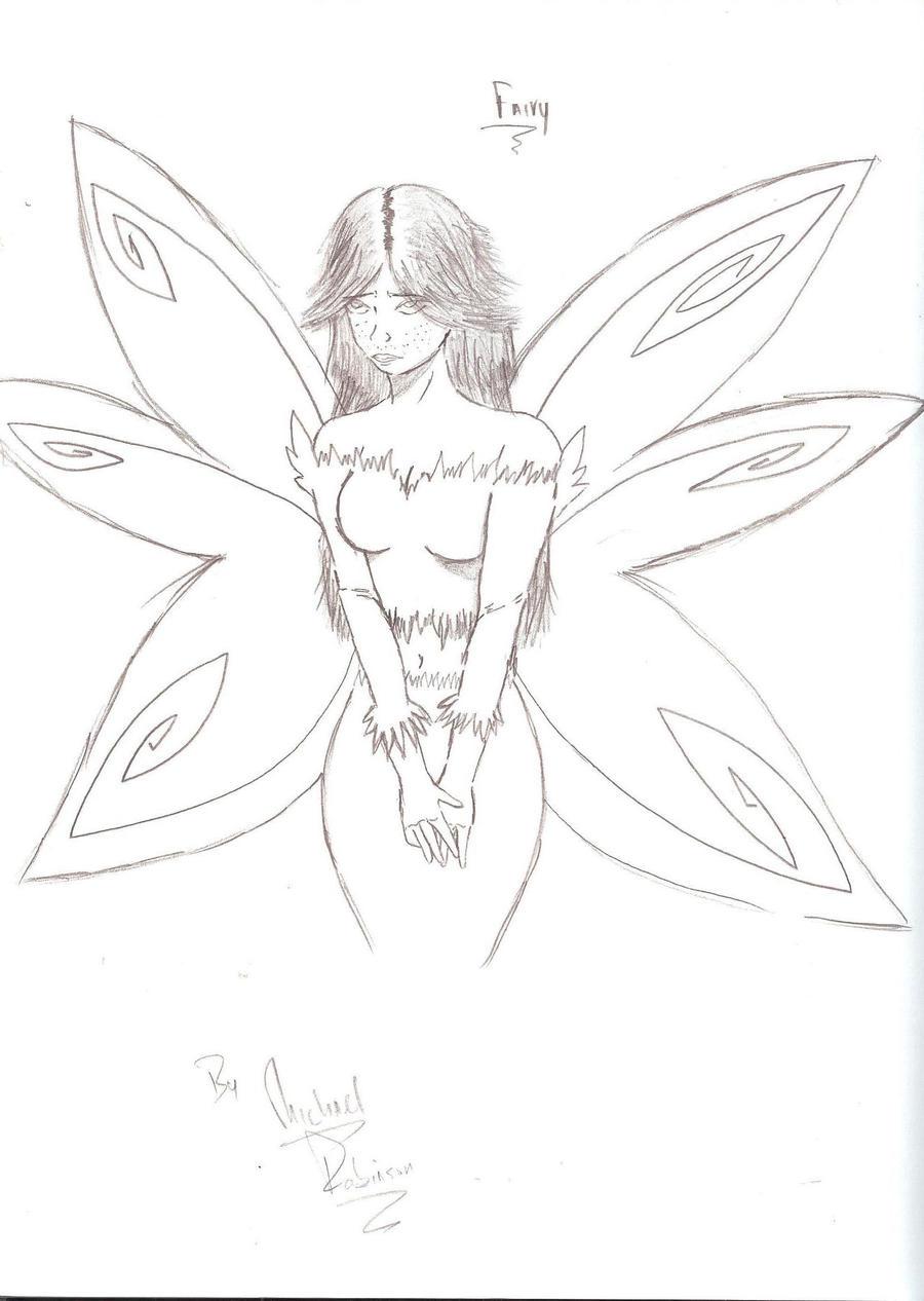 Beautiful Fairy Drawings | www.imgkid.com - The Image Kid ...