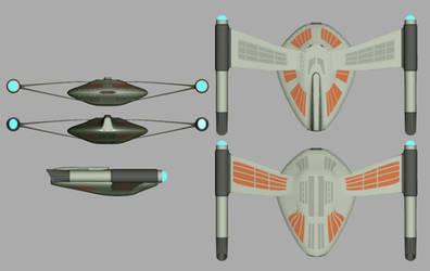 Romulan Bird of Prey Orthos