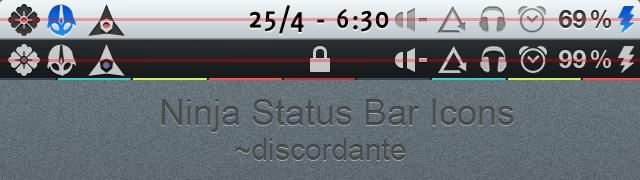 Ninja Status Icons by discordante