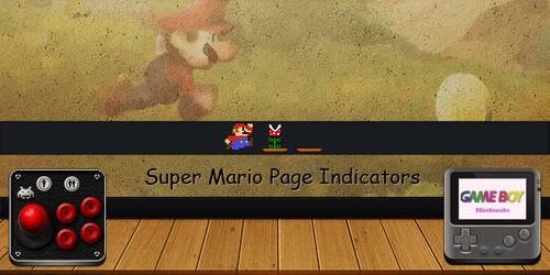 Super Mario Page Indicators by discordante