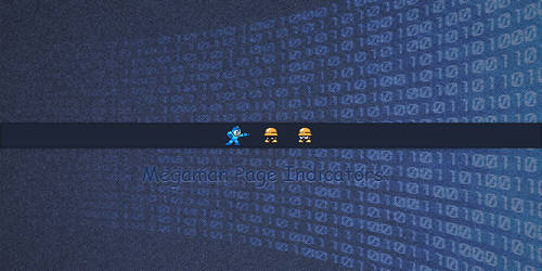 Megaman Page Indicators by discordante