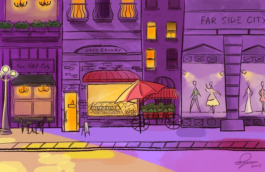 Strolls and Shops by SayuriKurata09