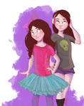 Girls. by Baygel