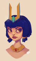 Neith Portrait by Baygel
