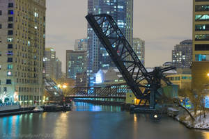 Kinzie Street Bridge by nfcdakota