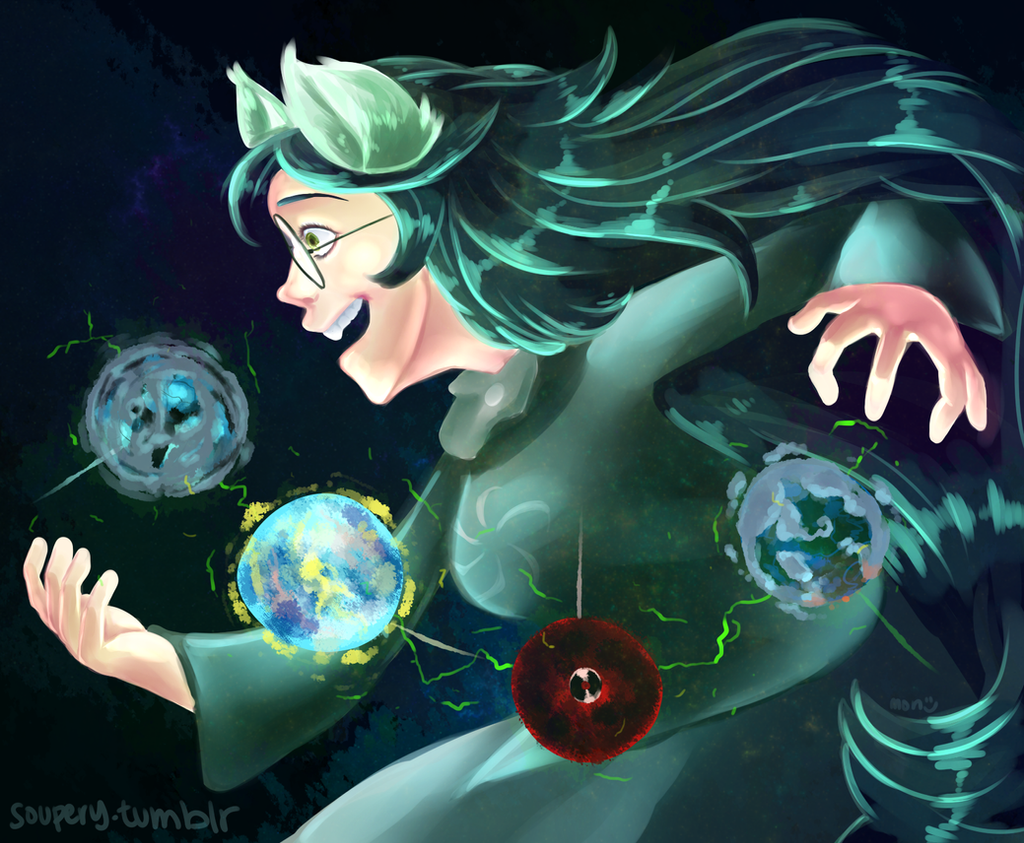 Space Girl by Moniqnieva