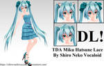 TDA Miku Hatsune Lace [DOWNLOAD]
