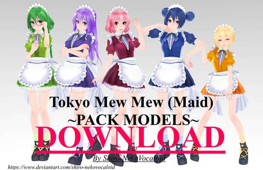 TDA Tokyo Mew Mew (Maid) [DOWNLOAD]