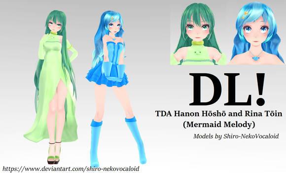 TDA Hanon Hosho and Rina Toin(Mermaid Melody) [DL]