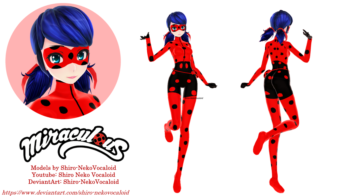[MMD MLB] Ladybug (Season 4)