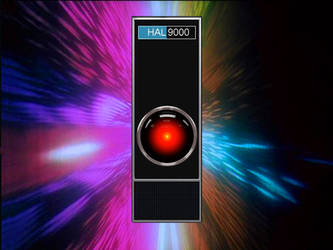 HAL 9000 beyond Jupiter by PeasAndRice