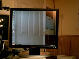 See-Thru Monitor? by PeasAndRice
