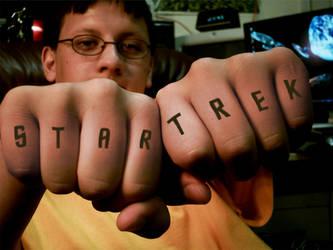 Star Trek Tattoo by PeasAndRice