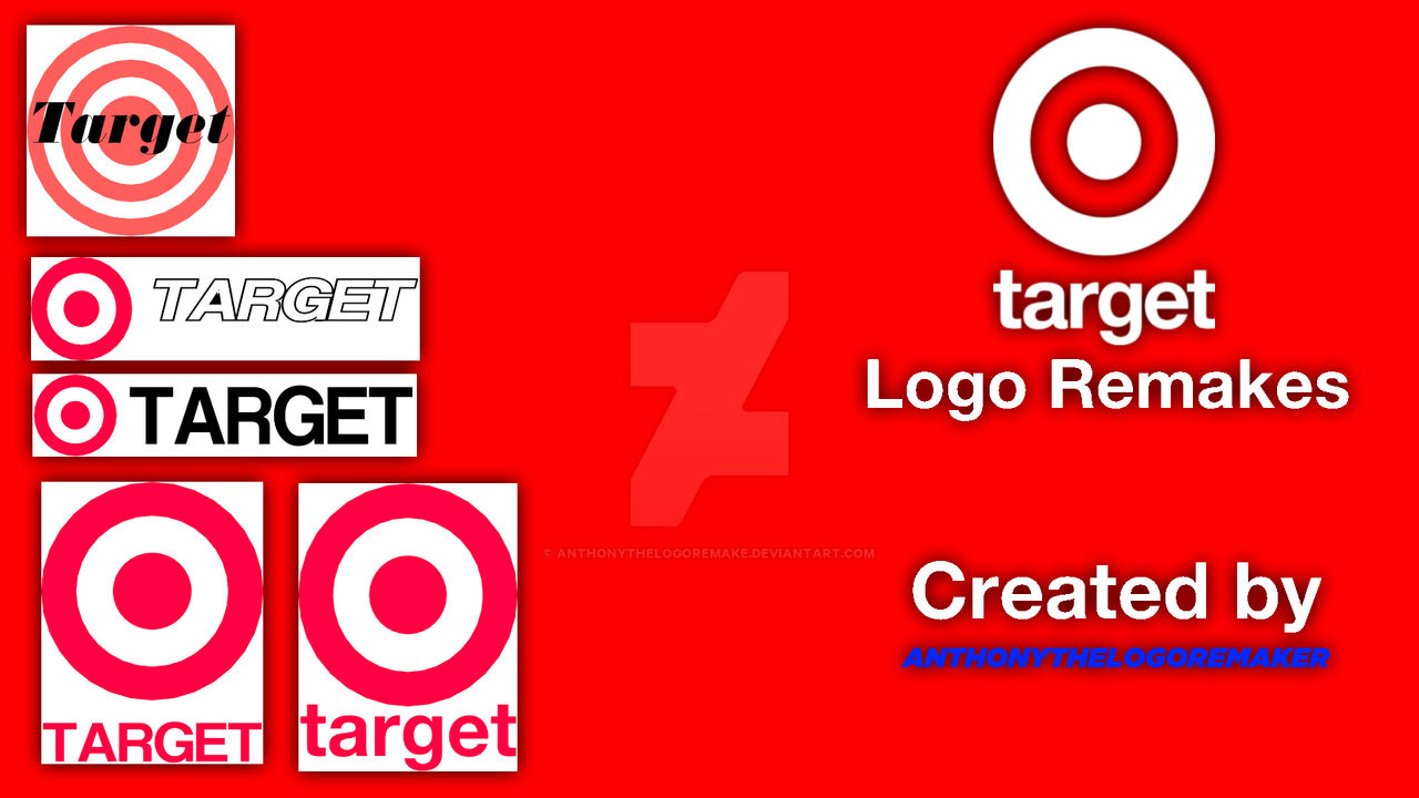 Target Logo Remakes From 1962 To 2019 By