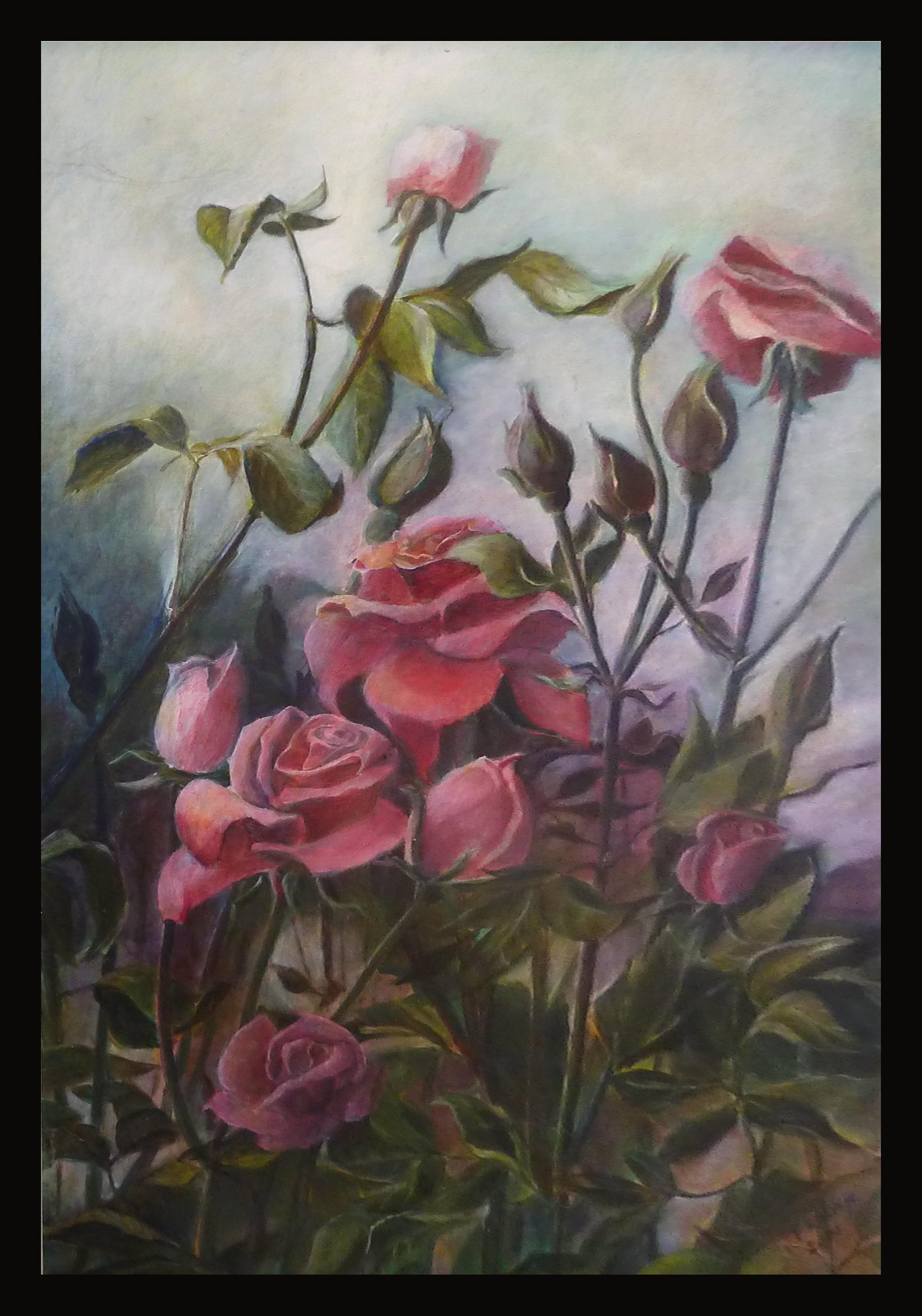 roses by FroukjeVoortallen