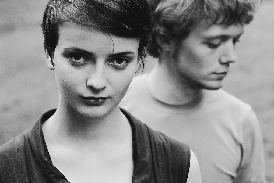 girl and boy by eugene-kukulka