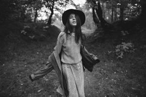 Girl and jacket by eugene-kukulka
