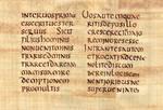Codex Claromontanus - Saint Matthieu