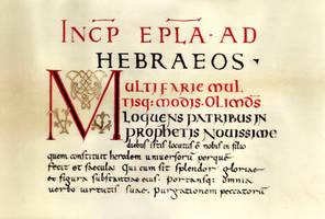 Grandval Bible by Errance