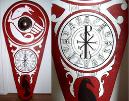 Chi Rho norman shield by Errance