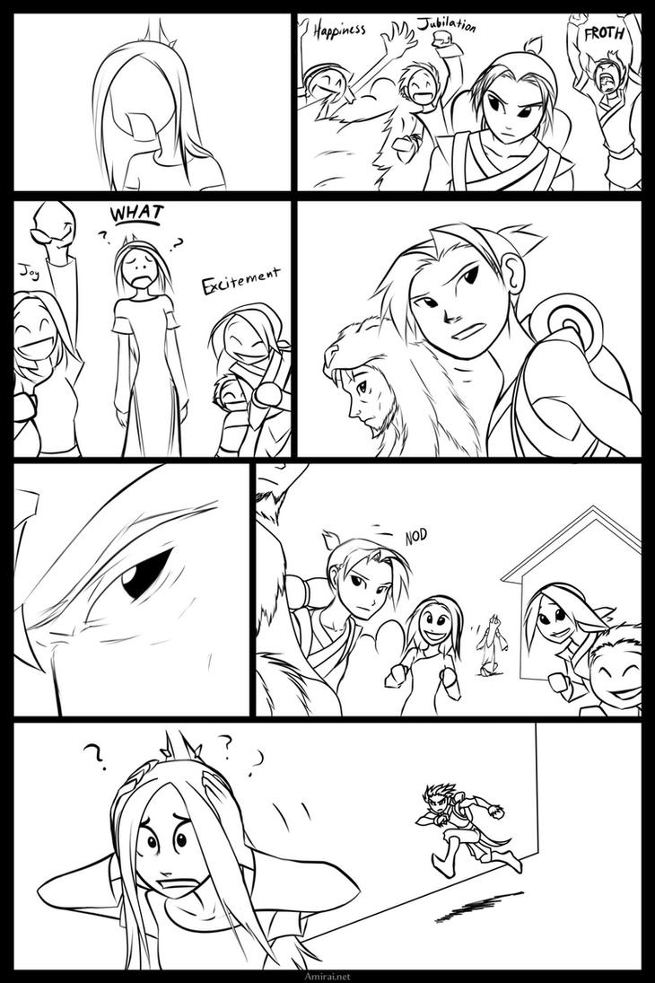 Kyoshi - the Undiscovered Avatar page 57 by Amirai