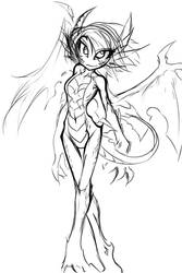Dragon girl Vadris by Amirai