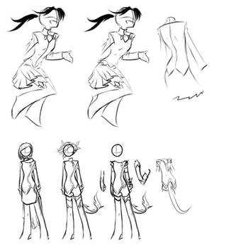 Shards costume design by Amirai