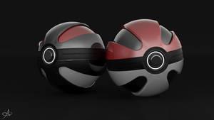 Concept Pokeballs