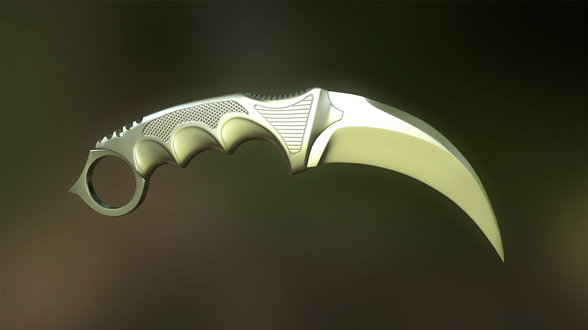 Karambit Knife by AndreiPriss