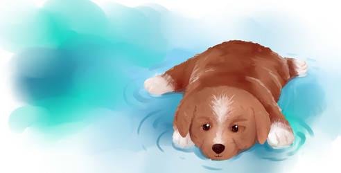 Dog by PitchLing