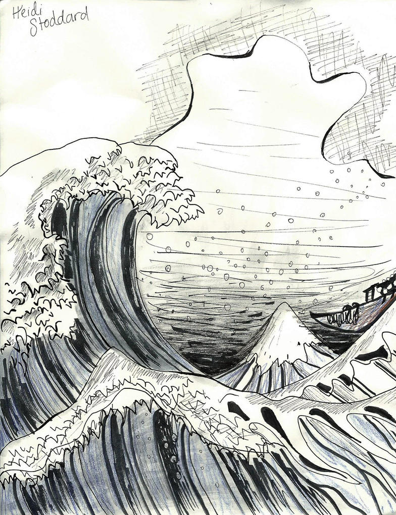 Great Wave by wingedmusician