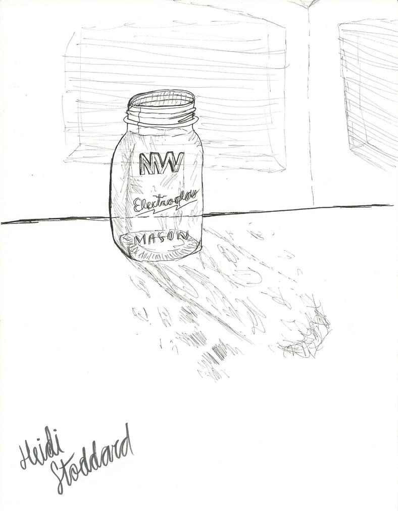 Glass Jar by wingedmusician
