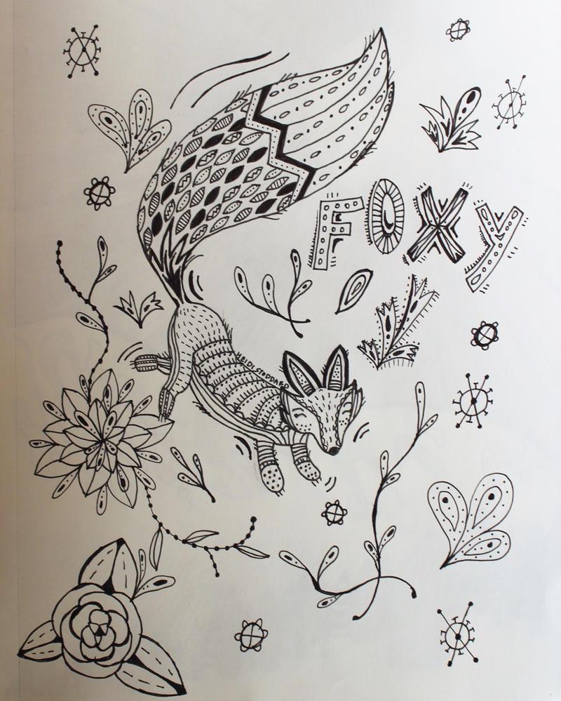 Foxy by wingedmusician