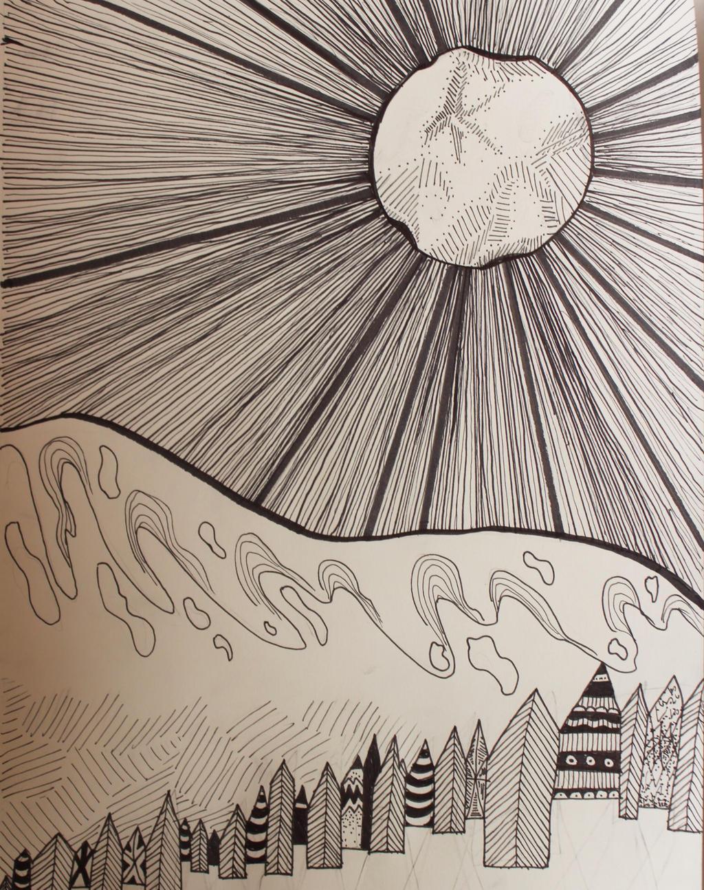 Moon Beam by wingedmusician