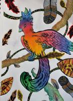 Pheonix by wingedmusician