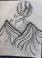 Moon Castle by wingedmusician
