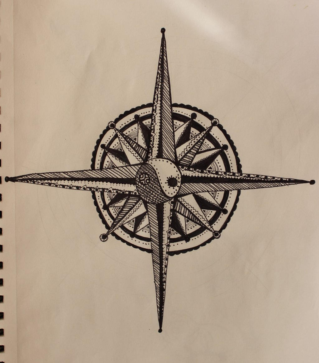 Compass Rose by wingedmusician