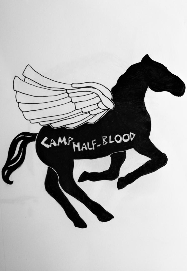 Camp Half-Blood by wingedmusician