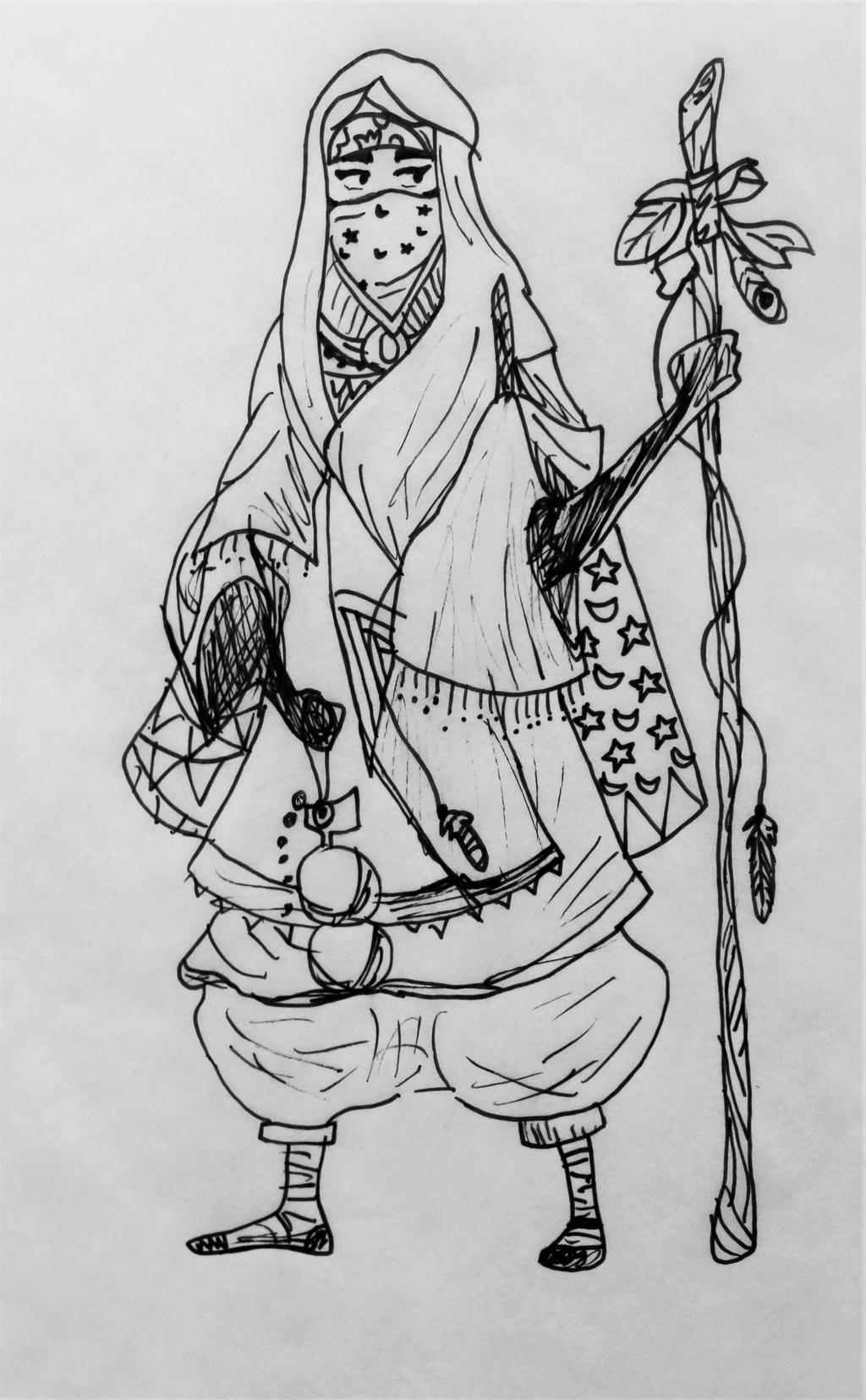 Saharan Royalty by wingedmusician