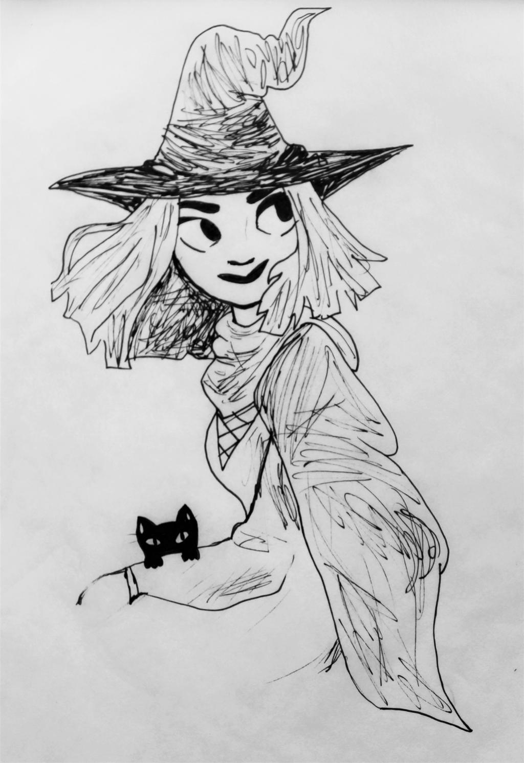 Little Witch by wingedmusician