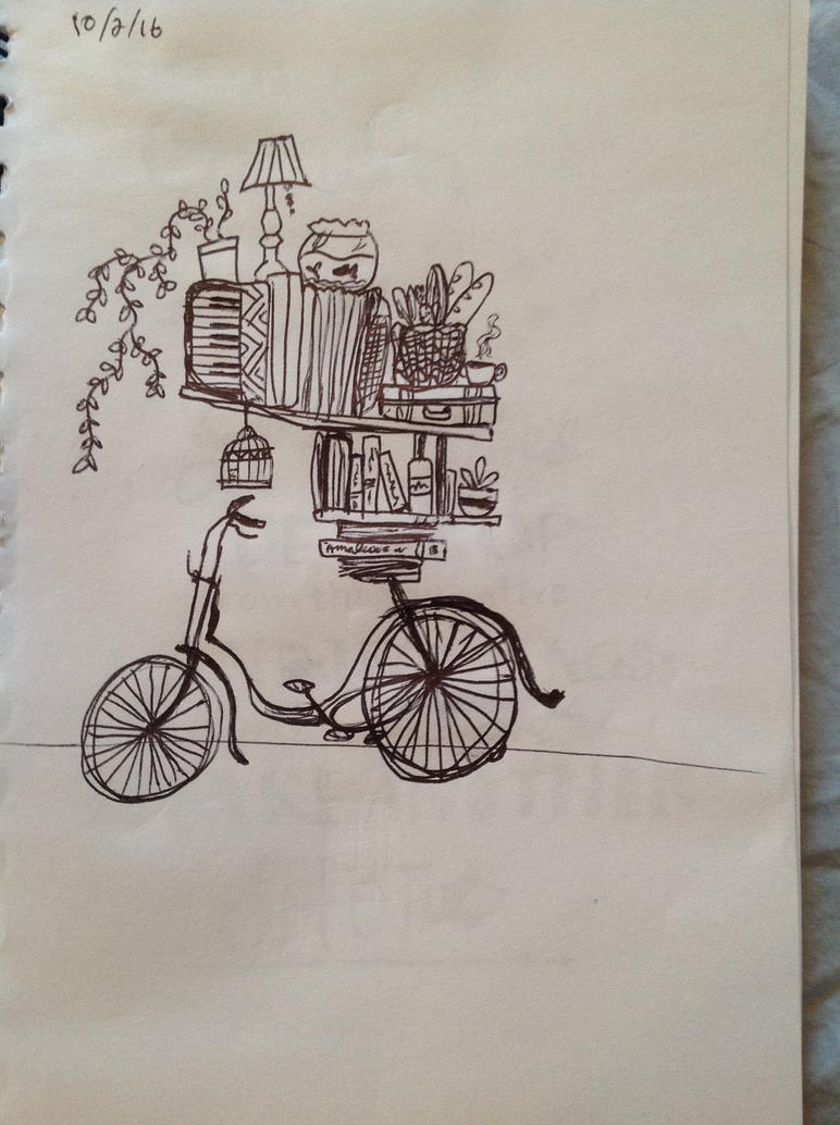 Bikeride by wingedmusician