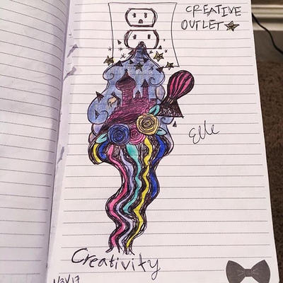 Creative Outlet by wingedmusician